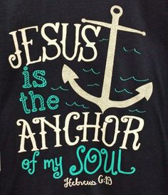 JESUS IS THE ANCHOR Cherished Girl Adult T-Shirt Junior cut S M L XL #CherishedGirl #GraphicTee