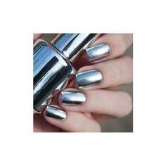2Pcs 15ML Metallic Mirror Effect Metal Silver Nail Art Polish Varnish... (460 PHP) ❤ liked on Polyvore featuring beauty products, nail care, nail polish, nails, shiny nail polish, art nail polish, sticker nail polish and glossy nail polish