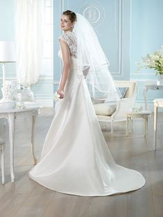 HALOKE | Wedding Dresses | Costura 2014 Collection | San Patrick (back)