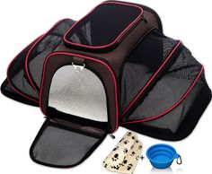 Petyella Expandable Pet Carrier for Small Dogs and Cats - Soft Sided Crate Air.. #Petyella