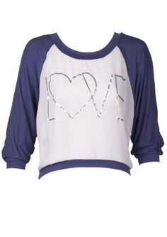 Love Long-Sleeve I have this and it's my fav tee