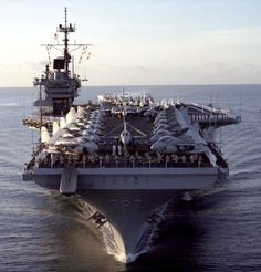 uss ranger My brother-in law worked on board this ship for Navy Marine, Navy Military, Military Life, Royal Navy, Us Navy, Uss Yorktown, Navy Carriers, Navy Aircraft Carrier, Navy Ships