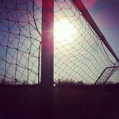 Soccer goal :)