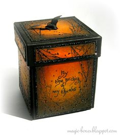 magic boxes - Outside 'Something Wicked' box