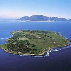 Robben Island-where Nelson Mandela was imprisoned.