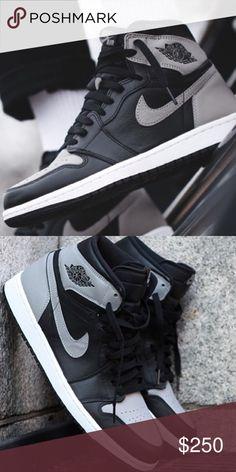 d5dafc66ca3c1c Jordan 1 Shadow Nike Air Jordan Shadow   11 Brand New Jordan 1 Shadow Size    11 In Hand Ready to Ship Jordan Shoes Sneakers