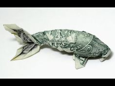 [Tutorial Origami] Base Koifish- dollar - YouTube