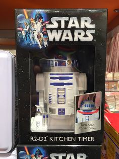 Star Wars: R2-D2 Kitchen Timer.... Lol just got this for Christmas