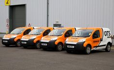 QTS Vans | QTS Group have their fleet wrapped by Ast Transport Branding