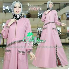Muslim Long Dress, Modern Abaya, Womens Fashion, Clothes, Dresses, Model, Projects, Style, Outfits
