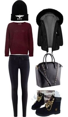 My kind of winter outfit