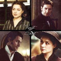North & South directed by Brian Percival, TV Mini-Series, 2004) #elizabethgaskell #fanart