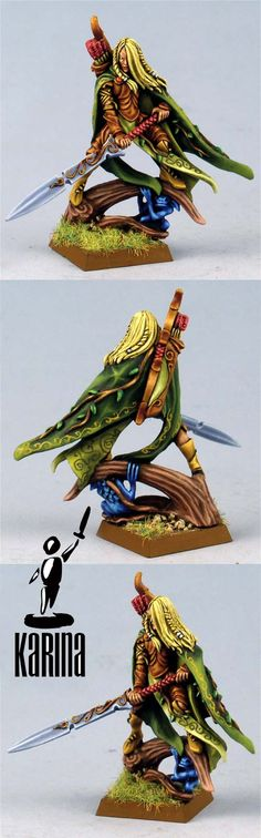 Wood Elves Lord with Great Weapon