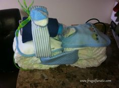 DIY Baby Shower Gifts – Diaper Motorcycle