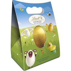NEW Lindt Chick Shell Egg Milk 105g #WinEasterChocolateWithLindt