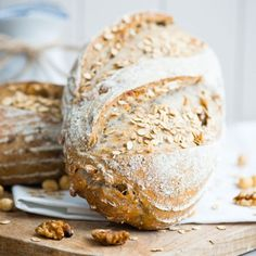 Here is a delicious recipe for Hazelnut, Oats And Walnut Bread. Browse though a wide variety of recipes, tips and inspiring ideas.