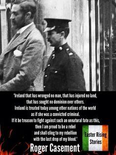 Roger Casement Ireland 1916, Ireland Map, Roger Casement, Irish Independence, Northern Ireland Troubles, Irish Republican Army, Easter Rising, Scotland History, Images Of Ireland