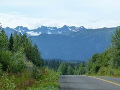 Driving the Cassiar Highway in northern British Columbia offers plenty of grand mountain views. We included the remote road in our Alaska Highway road trip itinerary.