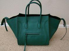 Celine emerald green bag eBay