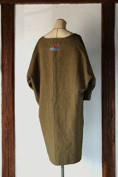 Antique linen dress/dolman by SASAKIYOHINTEN on Etsy