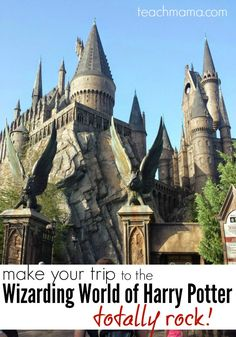 Here's how you can make your trip to the Wizarding World of Harry Potter really rock! If you are planning a trip to Orlando this summer,check this out! Orlando Travel, Orlando Vacation, Orlando Resorts, Disney World Vacation, Florida Vacation, Florida Travel, Disney Vacations, Disney Trips, Vacation Trips