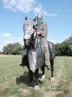 Sasanid Warrior in Armour on his Caparisoned Horse  Perse - 3rd~7th centuries…