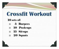 At home crossfit.you could also go on crossfit websites and see the workout of the day. Crossfit is amazeballs. you use your body weight to get the results! Fitness Workouts, Fitness Motivation, Sport Fitness, At Home Workouts, Fitness Tips, Health Fitness, Workout Exercises, Wod Workout, House Workout