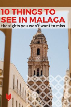 As one of the top coastal cities in Europe, there are so many things to do in Malaga no matter what your interests may be. Love exploring history and culture? The Old Town sights like the cathedral and Alcazaba are calling your name. Into gastronomy? You won't want to miss the local tapas and wine. Want to just chill out on the beach? We have that, too! Here are our top tips for what to see in Malaga, no matter what you're craving. #Malaga Spanish Culture, Castle Wall, Cities In Europe, Andalucia, 14th Century, Seville, Spain Travel, Malaga, Granada