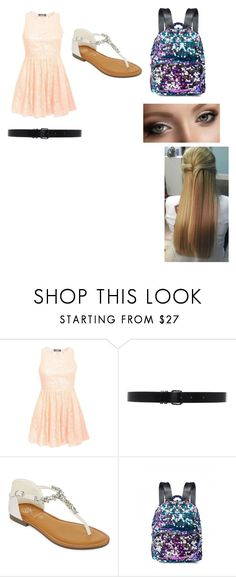 """""""Untitled #272"""" by cmessina00 on Polyvore featuring Pilot, Ann Demeulemeester, GC Shoes and Anastasia Beverly Hills"""