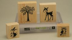 Stampin' Up Forest Friends by craftsandcoffee on Etsy - only $8.50 plus shipping!