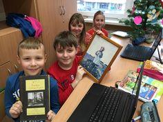 Na dziesiejszej lekcji języka polskiego wyruszyliśmy śladami Ani Shirley. Wraz z autorami blogspotu zwiedziliśmy Zielone Wzgórze, Aleję Zakochanych, Jezioro Lśniących Wód, Avonlea i okolice