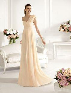 Pronovias: colección vestidos de fiesta 2013 vestido largo modelo Cangas