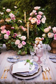 WedLuxe– The Secret Garden   Photography by: Alicia Thurston Photography Follow @WedLuxe for more wedding inspiration!