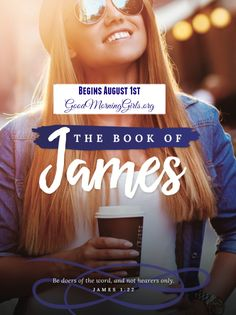 I am SO excited to announce our final summer study! The book of James is considered one of the most practical books of the New Testament. Much like the book of Proverbs in the Old Testament, it focuses on wise Christian living transformed by faith. We begin our study in the book of James on Monday, August 1st! We will read 1/2 chapter of James a day. This 2-week study will run from August 1st-August 12th. Are you in? The more the merrier! Go here for all the details...