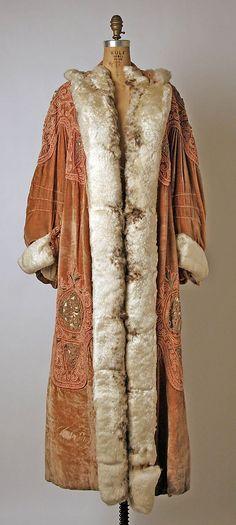 coat 1907 | Opera coat - c. 1907 - by Callot Soeurs (French, active 1895-1937 ...