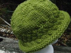 Ravelry: Braided Brimmed Hat pattern by Marianne Garrison I've been looking for this!