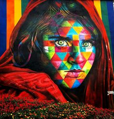 Street Art by Kobra