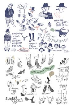 bizarre shoes. by hyunyoung Kim, via Behance