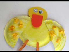 Preschool Paperplate Art - Duck