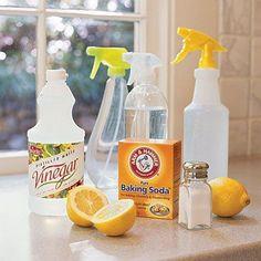 Natuurlijke schoonmaakmiddelen