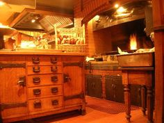 Absolutely my dream kitchen - Chez Panisse.