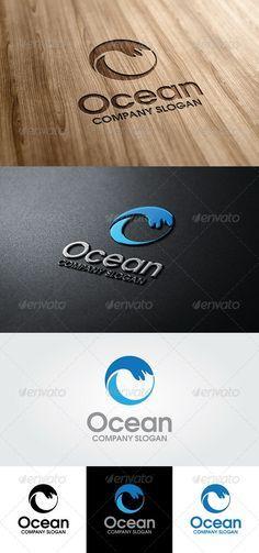 Ocean Logo Template - GraphicRiver Item for Sale