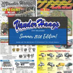 Vander Haag's, Inc. Used Parts, Truck Parts, Trucks, American, Twitter, Truck