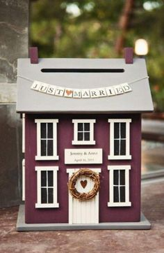 Notre belle maisonSi l'argent de l'urne est prévu pour financer la nouvelle maison...
