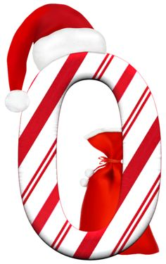 Letter O red and white striped Christmas theme Christmas Crafts For Gifts, Christmas Ornament Crafts, Christmas Gnome, Christmas Clipart, Christmas Design, Christmas Colors, Christmas Themes, Alphabet Letters Design, Alphabet Art