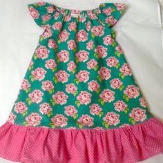 Robe fille en coton TILDA 2-3 ans