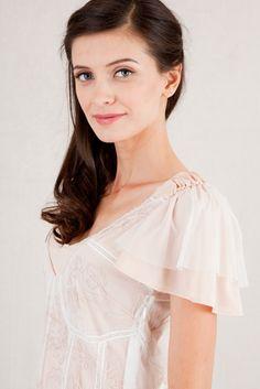 Nataya Romantic Vintage Style Wedding Dress  #wedding #dress