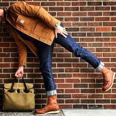 Mens Fashion Casual – The World of Mens Fashion Mens Boots Fashion, Denim Fashion, Fashion Sale, Fashion Outlet, Work Fashion, Paris Fashion, Fashion Fashion, Runway Fashion, Womens Fashion