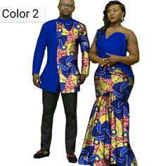 2020 African Print Clothes for Couple Dashiki elegant lady party Dresses and men shirts cotton African Clothing Modern African Clothing, Traditional African Clothing, Latest African Fashion Dresses, African Inspired Fashion, African Men Fashion, Couples African Outfits, African Attire, African Wear, African Dress