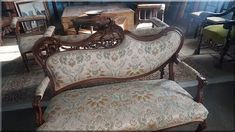 rokokó antik bútorok Vanity Bench, Antique Furniture, Accent Chairs, Lounge, Provence, Couch, Antiques, Vintage, Home Decor